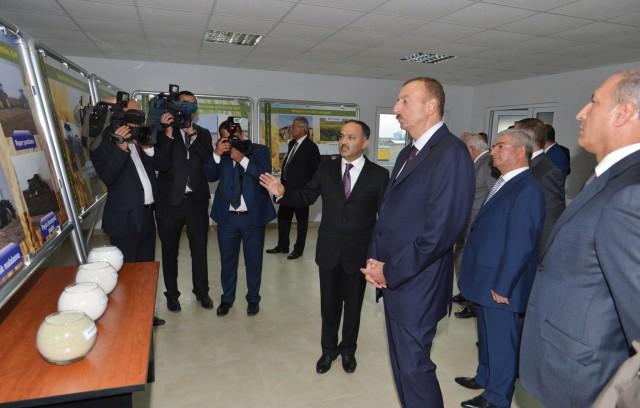 Cənab Prezidentin iştirakı ilə Atena zavodunun açılış mərasimi   Atena Süd və süd məhsulları