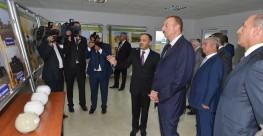 Cənab Prezidentin iştirakı ilə Atena fermasının açılış mərasimi | Atena Süd və süd məhsulları